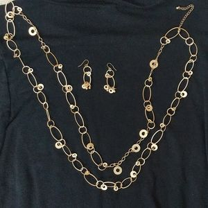 Premier designs necklace and matching earrings